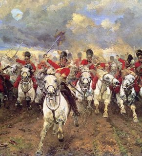 Scots Greys - Lady Butler