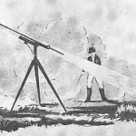 The start of the Congreve Rocket