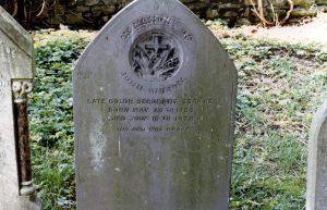 John Gibson's grave